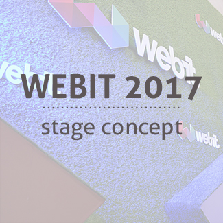 gallery Webit Startup Stage design Startuo stage Webit 2017