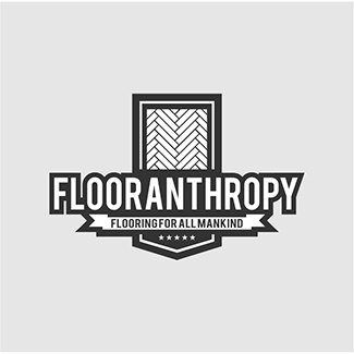 Eyes Company Logo design FLOORANTHROPHY